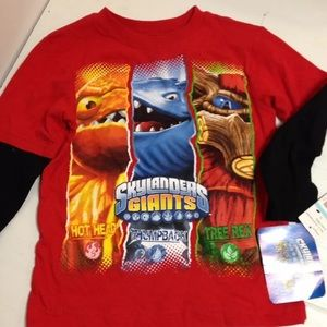 Sky landers shirt